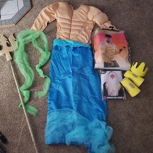 Other - Handmade King Triton Little Mermaid Costume